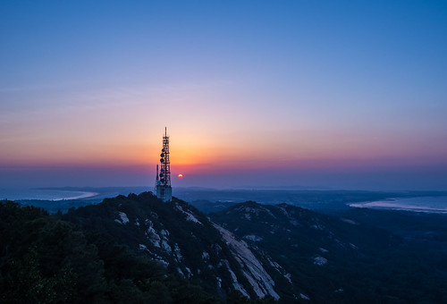 太武山夕色 Sunset of Taiwu Mountain