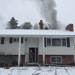 Structure Fire on N. Evergreen Road