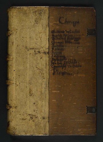Binding of  Guido de Cauliaco: Chirurgia