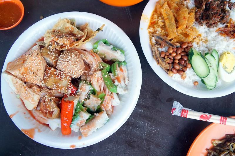 imbi morning market - yong tau foo