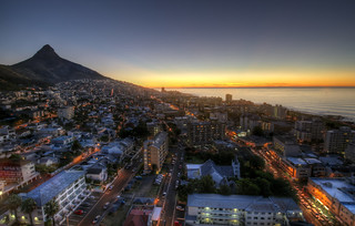 Sunset at Sea Point, Cape Town [RSA]