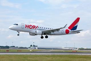 Avión de la compañía Hop!
