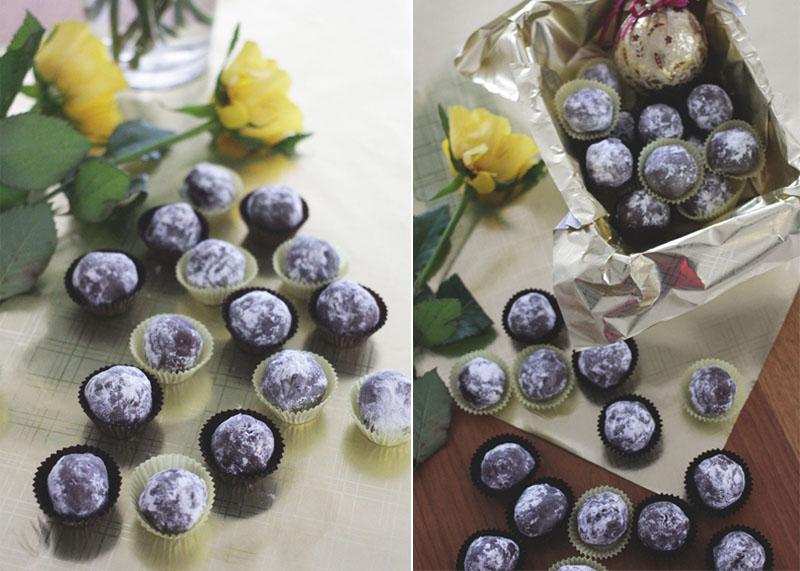 chocolate truffles, Bumpkin Betty