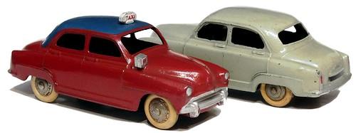 10 Dinky F Simca Aronde 2°tipo