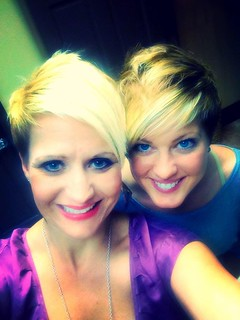 Karen and me