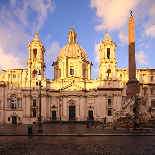 morning italien italy rome roma sunrise licht italia sony piazzanavona sonnenaufgang rom santagneseinagone sorgeredelsole sonyα900