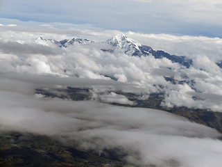 Flying out of Cusco