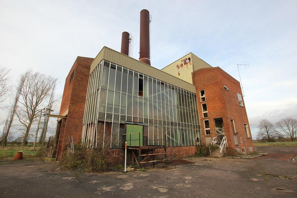 Beacon Waste Incinerator Hanley Swan Dec 2014