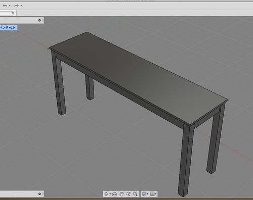 作業テーブル大