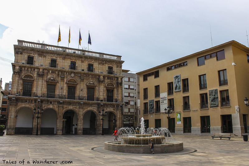 CASTELLÓN DE LA PLANA - Plaça Major - Palacio Municipal