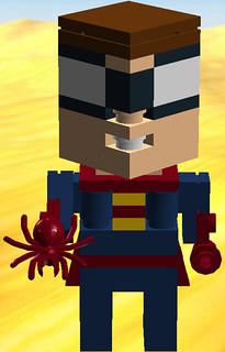 Cube Dude Spider, the Boy Wonder