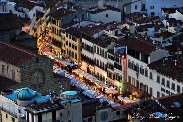 San Lorenzo Market, Piazza San Lorenzo, Florence, Italy