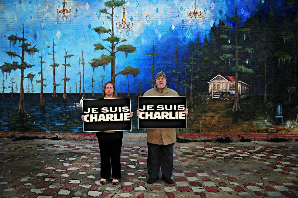 Je suis Charlie de Xavier J. Peg ☠, sur Flickr