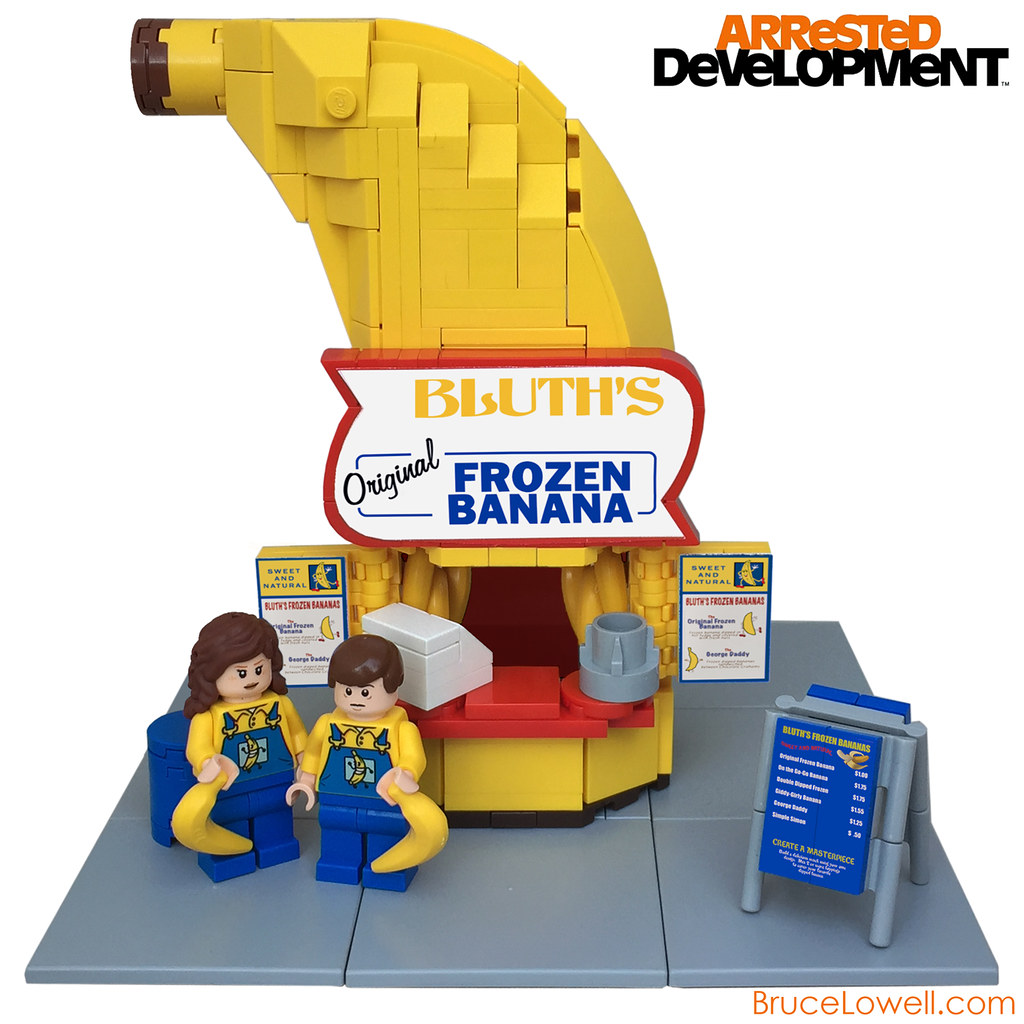 Oscar Mayer Wienermobile In LEGO Form