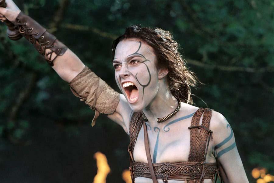 Keira Christina Knightley als Guinevere in King Arthur, 2004