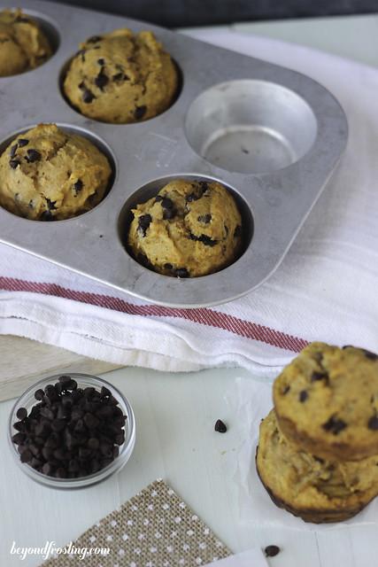 Skinny Sweet Potato & Banana Muffins