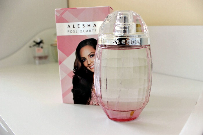 Alesha Dixon Rose Quartz Perfume Review
