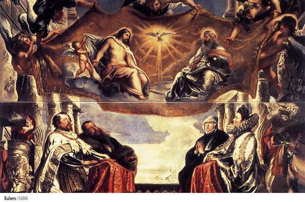 Rubens, 1604. Trinidad