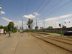 Tram stop in Katowice