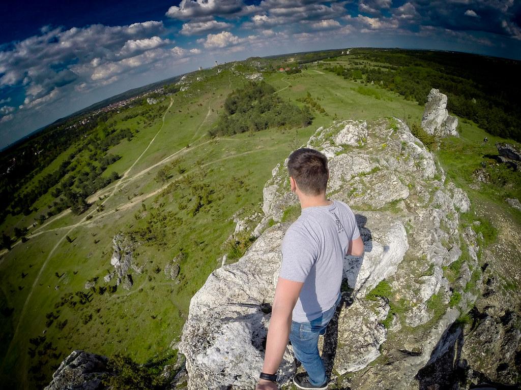 Mały Giewont szczyt - Góry Sokole #3 - Jura - Polska / Poland