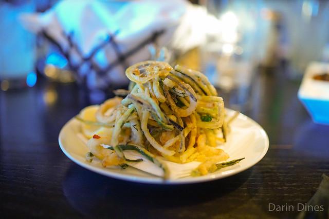 CRISPY FRITTO MISTO seafood, vegetables, herbs & lemon