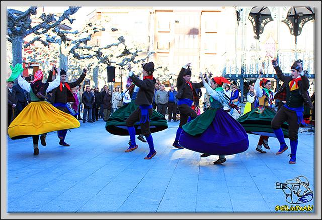 Danzas burgalesas Justo del Río en Briviesca (5)