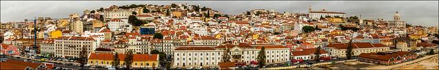 Lisbon Port Pano