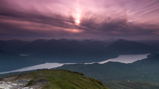 Sun Dog on Ben Lomond