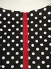 Polka dot Megan dress