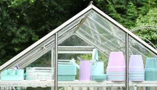 Greenhouse shelf 4