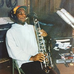 It's the Sax Man! August 11th 1995. #flashbackfriday #omega #ff #studio
