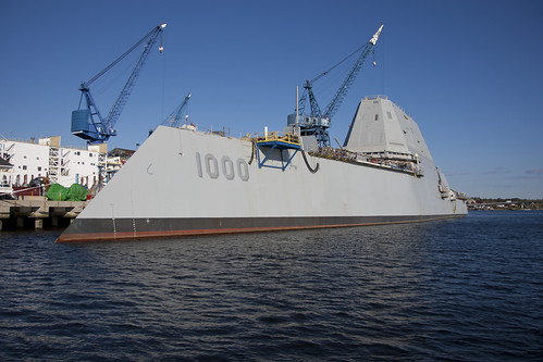 DDG 1000 Shipbuilding Program Continues to Make Impressive Strides