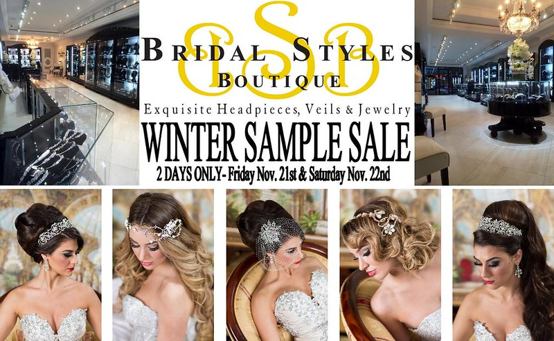 2014 winter sample sale announcement