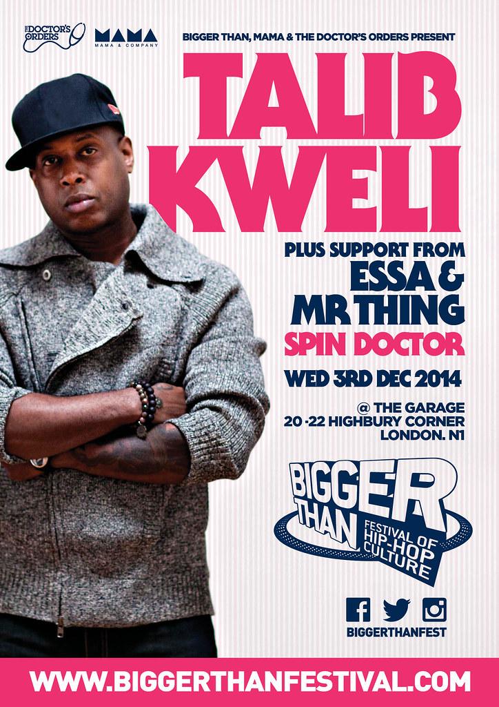 Essa Kweli Flyer 3 Dec 2014