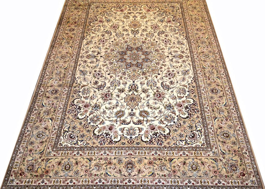 Fine Isfahan Esfahan Persian Area Rug 7x10 (4)