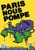 Affiche de l'UDB - Paris nous pompe