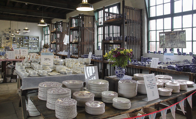 Middleport / Burleigh Pottery Factory Tour
