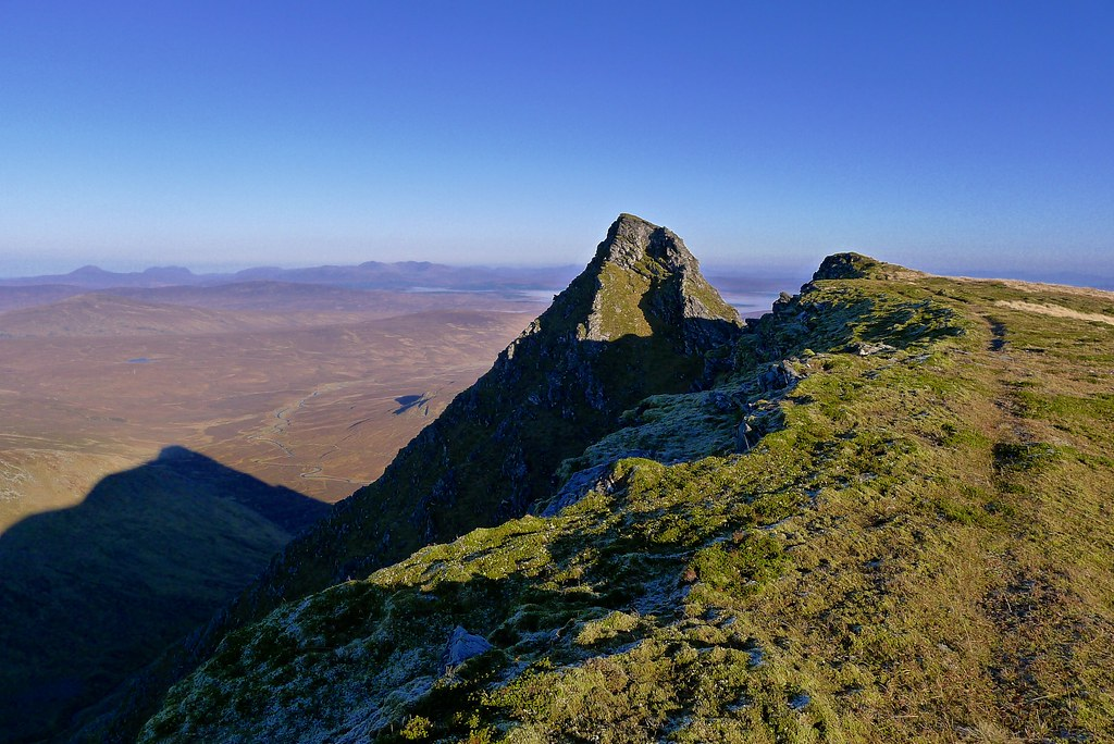 The ridge to An Sgurr