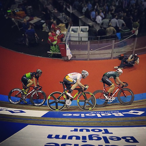 The #need for #speed on the #track #bike #cycling #gent #zesdaagse #visitgent #igbelgium #ghent