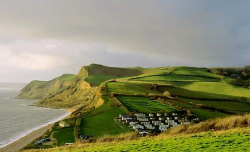 towards Golden Cap, Dorset