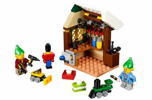 LEGO 40106 Toy Workshop 00