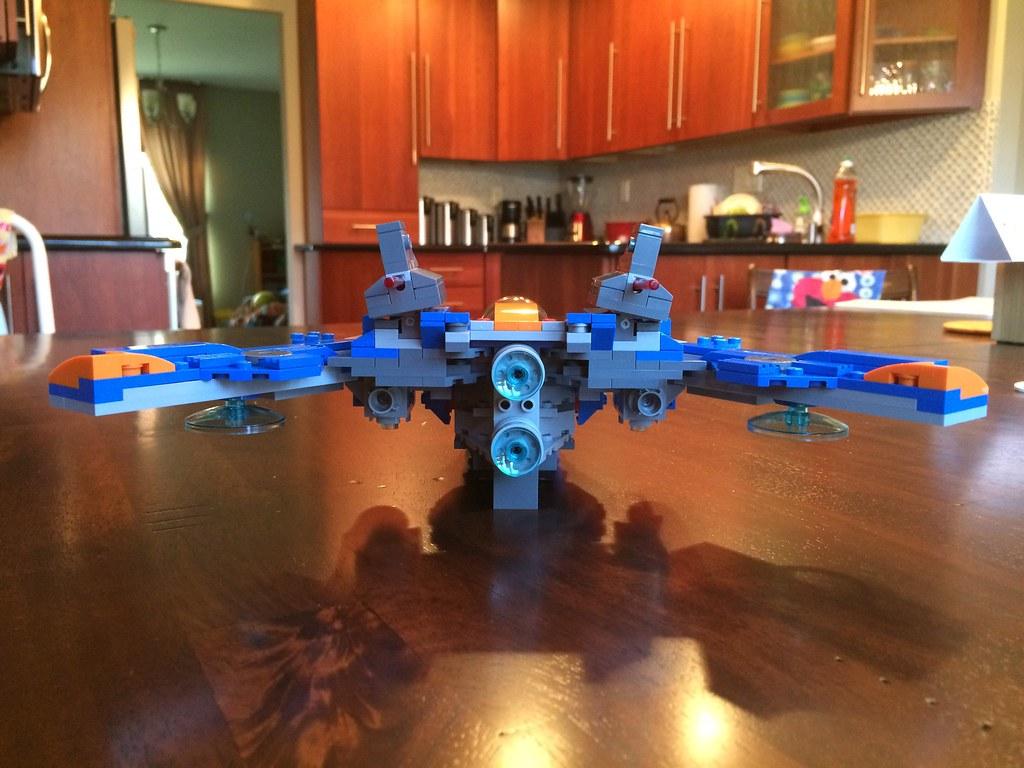 LEGO Rocket Racoon Warbird