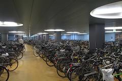 Bike storage Basel SBB