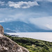 Stormy Sky over Kefalonia by Rupert Brun