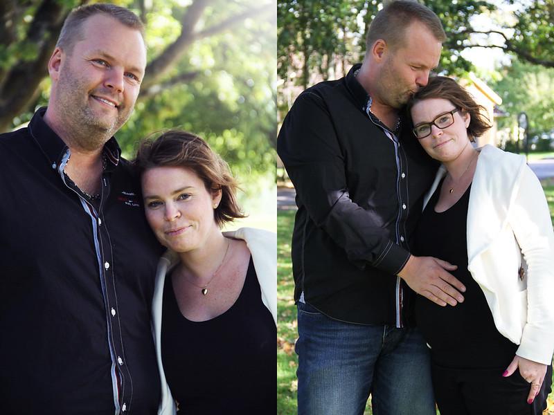 Gravidfotografering i Staffanstorp med Martina och Pelle!