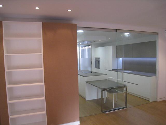 Puertas correderas de cristal vidreglass - Puerta corredera cocina ...