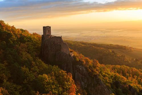 sunset sun france castle ruins alsace ribeauvillé leverdesoleil ruines