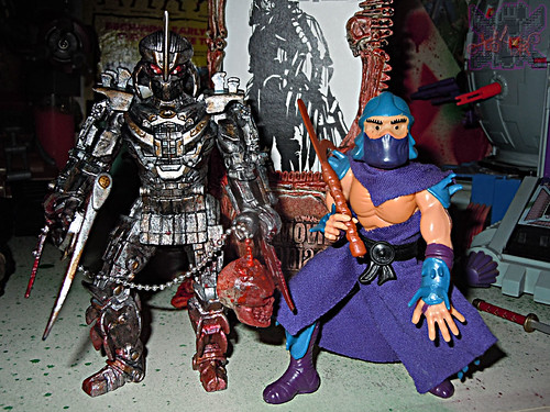 """NINJA TURTLES"" Movie :: SHREDDER  { tOKKustom MOVIE MANIAC } xxi / ..with Original SHREDDER '88 (( 2014 ))"