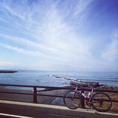 Cycling by the sea!