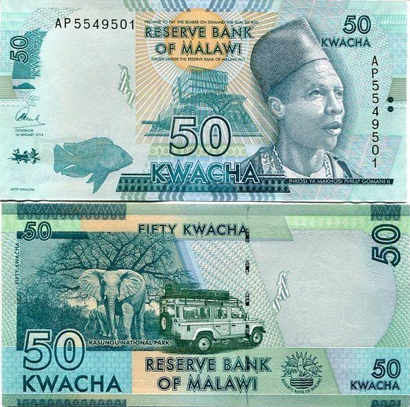 50 Kwacha Malawi 2014